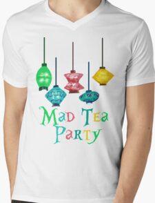 Mad Tea Party Mens V-Neck T-Shirt
