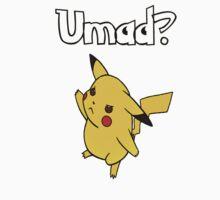 Umad? Pikachu by nicksala