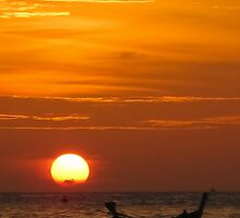 Sunset / Phuket by Dean Cunningham
