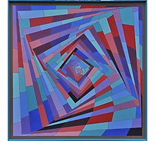 Square spiral Photographic Print