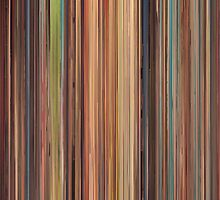 Moviebarcode: Spirited Away (2001) by moviebarcode
