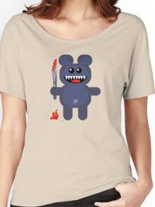BEAR 2 (Cute pet with a sharp knife!) Women's Relaxed Fit T-Shirt