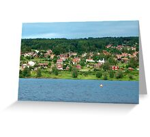 Dalarna Sweden Greeting Card