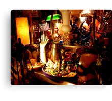 Second hand store Canvas Print