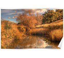 Watercolours - Somewhere near Oberon NSW Australia - The HDR Experience Poster