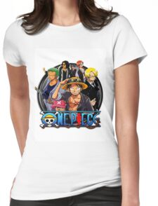 onepiece crew Womens Fitted T-Shirt