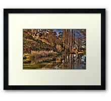 Reflections of Autumn - Rockley, NSW,Australia - The HDR Experience Framed Print