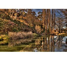 Reflections of Autumn - Rockley, NSW,Australia - The HDR Experience Photographic Print