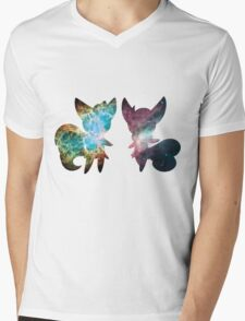 Meowstic (Male and Female) Mens V-Neck T-Shirt