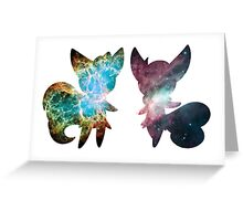 Meowstic (Male and Female) Greeting Card