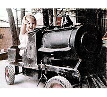 Little Choo Choo Number 9 Photographic Print