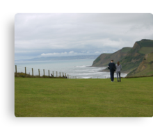 A Perfect Walk  Canvas Print