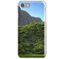 Oahu trees iPhone Case/Skin