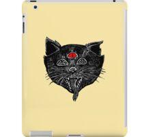 creepy kitty iPad Case/Skin