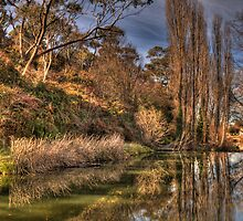 Reflections of Day - Rockley, NSW,Australia - The HDR Experience by Philip Johnson