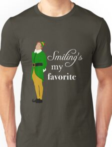 Smiling's My Favorite Unisex T-Shirt