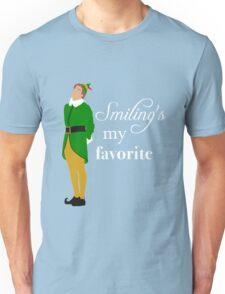Smiling's My Favorite Unisex T-Shirt