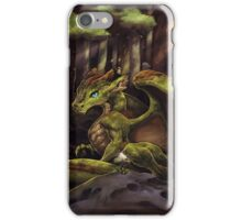 Baby Moss Dragon iPhone Case/Skin