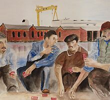Lunch time by Josephine Mulholland