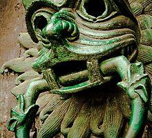 Sanctuary Door Knocker by DeePhoto