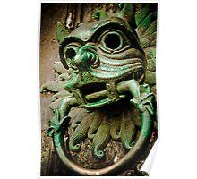 Sanctuary Door Knocker Poster