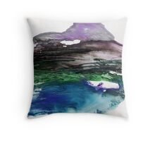 Abstract Painting Nº 05 Throw Pillow