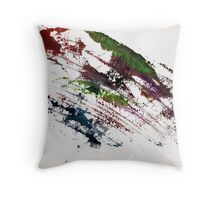 Abstract Painting Nº 07 Throw Pillow