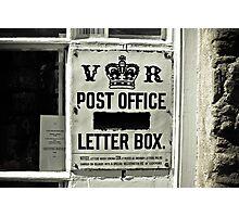 Victorian Postbox Photographic Print