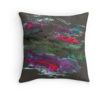 Abstract Painting Nº 09 - Black Throw Pillow