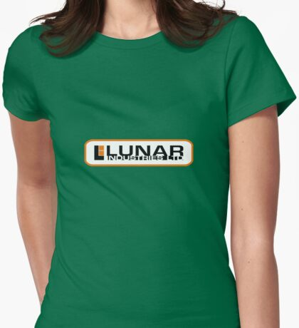 lunar industries Womens Fitted T-Shirt