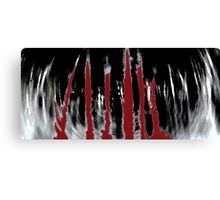 Blood Forrest Canvas Print