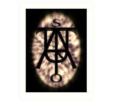 Enigmatic Rune #00 Art Print