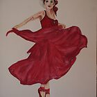 Lady in Red by Josephine Mulholland