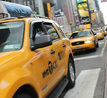 NYC Cab by perrycass