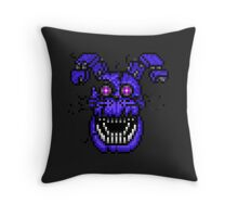 Five Nights at Freddys 4 - Nightmare Bonnie - Pixel art Throw Pillow