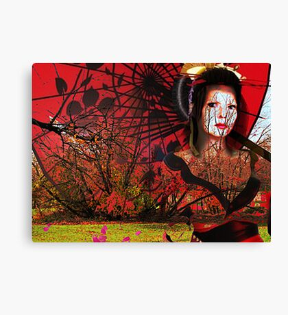 Come With Me To The Forest Canvas Print