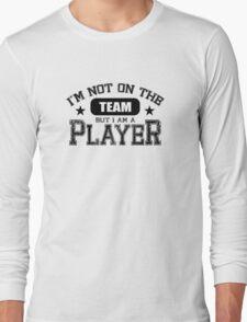 Team Player - Black Long Sleeve T-Shirt
