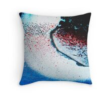 Dissolution Throw Pillow