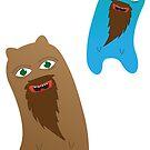Bearded Bears by brigizord