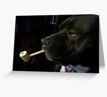 Smoking Greeting Card