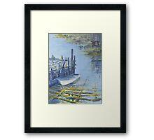 Frail Cove, nr Chester, Nova Scotia Framed Print