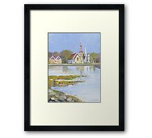 Mahone Bay, Nova Scotia Framed Print