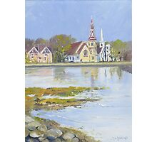 Mahone Bay, Nova Scotia Photographic Print