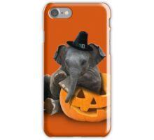 Thanksgiving Pilgrim Elephant iPhone Case/Skin