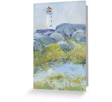 Lighthouse at Peggy's Cove, Nova Scotia Greeting Card