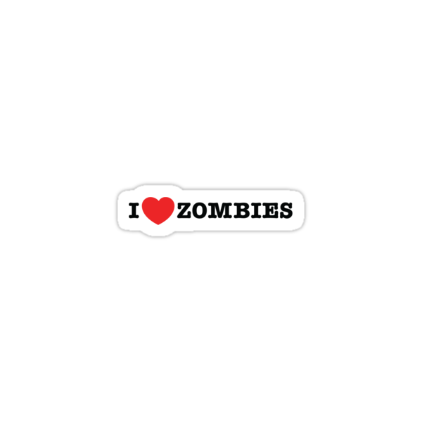 I <3 Zombies by vargasvisions