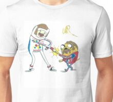 Jake and Finn shake and bake by WRTISTIK Unisex T-Shirt
