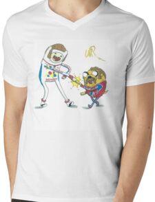 Jake and Finn shake and bake by WRTISTIK Mens V-Neck T-Shirt