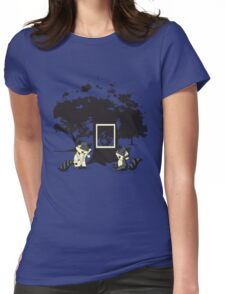 Dr. Racoon Womens Fitted T-Shirt