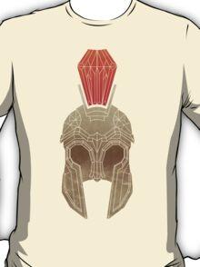 Geometric Trojan Helmet T-Shirt